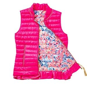 Lilly Pulitzer Cora Down Vest